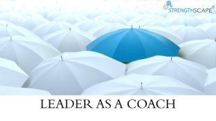 leaders as coach